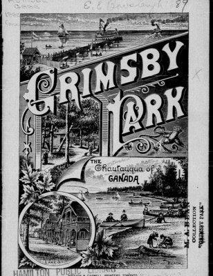 1889 Grimsby Park Programme