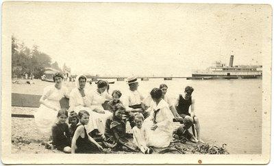 Women on Grimsby Beach
