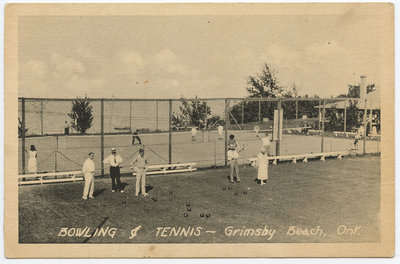 Bowling and Tennis, Bell Park