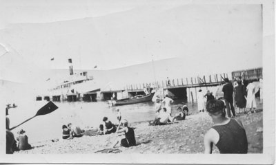 Swimmers, Sun Bathers, and Steamboats