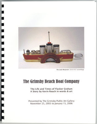 Grimsby Beach Boat Company by Kevin Roach