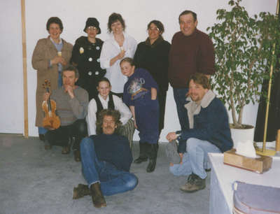 Cast of Agnes Macphail play
