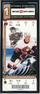 Chris Neil Senators Ticket