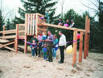 Reeve Murray Betts opens the new Eugenia Park playground