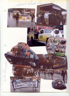 Split Rail Festival Parade collage