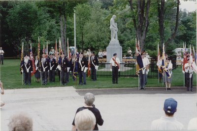 Rededication of the cenotaph at Priceville