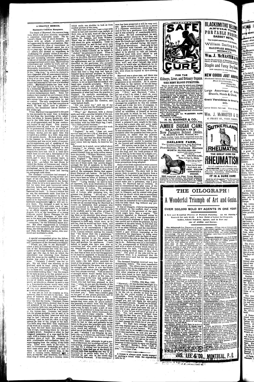 Markdale Standard (Markdale, Ont.1880), 27 Sep 1883