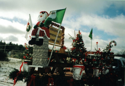 First Prize Float in Priceville Santa Claus Parade