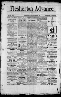 Calendar for 1883