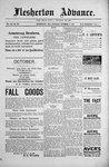 Flesherton Advance, 3 Nov 1892