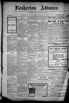 Flesherton Advance, 31 Dec 1908