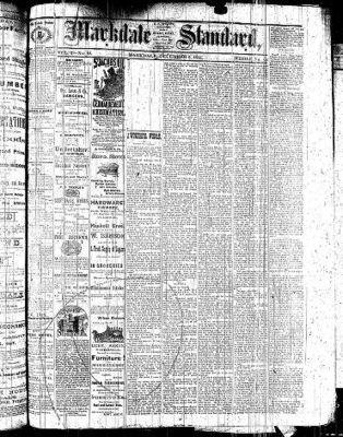 Markdale Standard (Markdale, Ont.1880), 2 Dec 1881