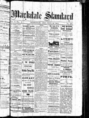 Markdale Standard (Markdale, Ont.1880), 20 Sep 1883