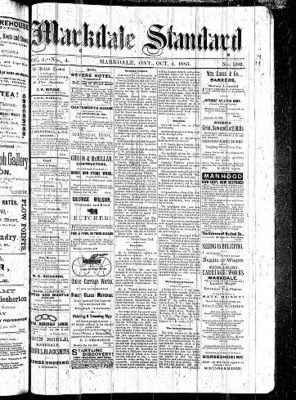 Markdale Standard (Markdale, Ont.1880), 4 Oct 1883