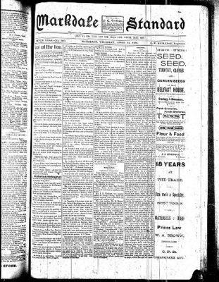 Markdale Standard (Markdale, Ont.1880), 10 Apr 1890