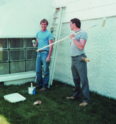 Painting the Artemesia Township offices