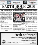 Earth Hour 2010, page EH01