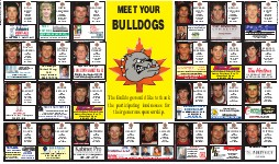 Bulldog Playoff Preview, page BD04 & 05