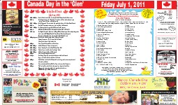 Canada Day, page CD03 and 06