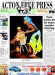 Acton Free Press, page 1