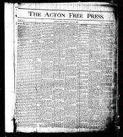 Acton Free Press (Acton, ON)2 Jul 1875