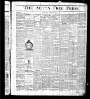 Acton Free Press (Acton, ON)16 Jul 1875