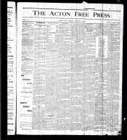 Acton Free Press (Acton, ON), August 6, 1875