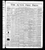 Acton Free Press (Acton, ON), September 17, 1875