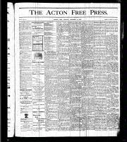 Acton Free Press (Acton, ON)8 Oct 1875