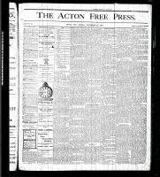 Acton Free Press (Acton, ON), November 19, 1875