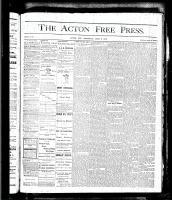 Acton Free Press (Acton, ON)8 Jun 1876