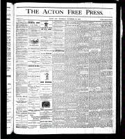 Acton Free Press (Acton, ON), November 23, 1876