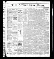 Acton Free Press (Acton, ON), December 7, 1876
