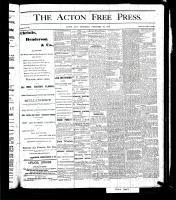 Acton Free Press (Acton, ON), December 28, 1876