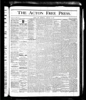 Acton Free Press (Acton, ON), January 18, 1877