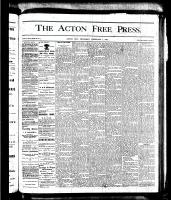 Acton Free Press (Acton, ON)1 Feb 1877