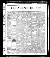 Acton Free Press (Acton, ON), March 1, 1877