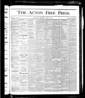 Acton Free Press (Acton, ON), March 8, 1877