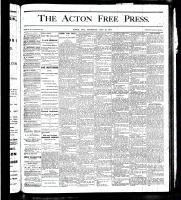 Acton Free Press (Acton, ON), May 31, 1877