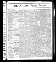 Acton Free Press (Acton, ON), June 14, 1877