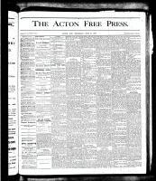 Acton Free Press (Acton, ON), June 21, 1877