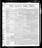 Acton Free Press (Acton, ON), June 28, 1877
