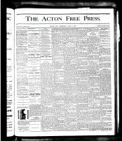 Acton Free Press (Acton, ON), July 5, 1877