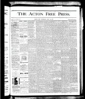 Acton Free Press (Acton, ON), July 19, 1877
