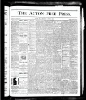 Acton Free Press (Acton, ON), July 26, 1877