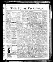 Acton Free Press (Acton, ON), August 16, 1877
