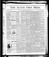 Acton Free Press (Acton, ON), September 6, 1877