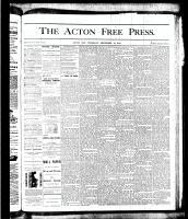 Acton Free Press (Acton, ON), September 13, 1877