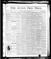 Acton Free Press (Acton, ON), September 27, 1877
