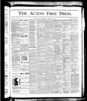 Acton Free Press (Acton, ON), October 11, 1877